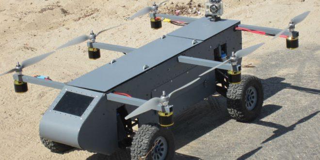В России займутся разработкой первого в мире летающего внедорожника