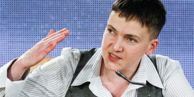«Возвращению Крыма и Донбасса ─ быть!»: Савченко озвучила главные условия для реализации пошагового плана
