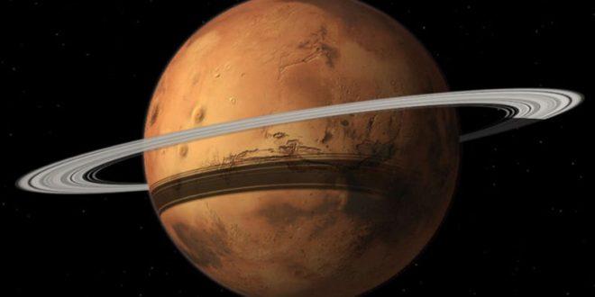 Ученые: У Марса начинают формироваться кольца