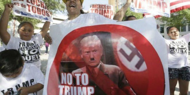 Мексиканцы вышли на многотысячные марши против Трампа