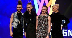 Шведы хотят отправить на «Евровидение» гламурных рокеров в платьях и на каблуках