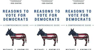 Книга «Причины голосовать за демократов» с 266 пустыми страницами стала бестселлером на Amazon