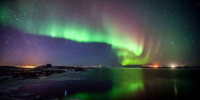 Британцы делятся фото и видео удивительного полярного сияния, «накрывшего» Туманный Альбион