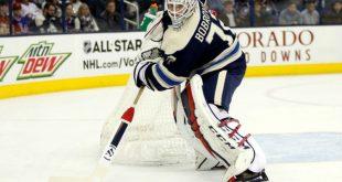 Россиянин Бобровский в третий раз за март стал первой звездой дня в НХЛ