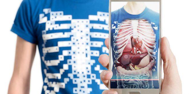 Британские разработчики создали футболку, «обнажающую» внутренние органы