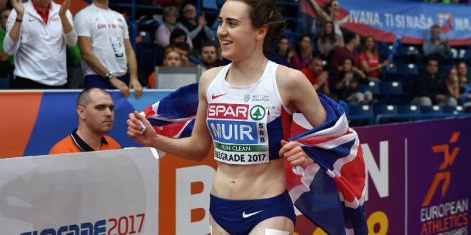 Организатор пыталась запретить бегунье совершить круг почета на ЧЕ в Белграде, но спортсменка убежала от нее