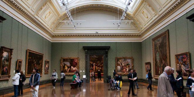 Мужчина изрезал отверткой картину Гейнсборо в лондонской Национальной галерее