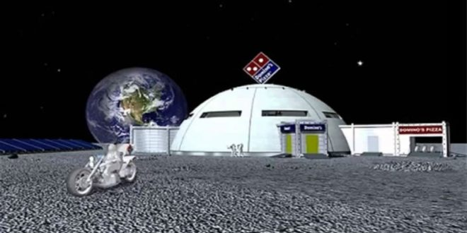 Японцы откроют пиццерию на Луне