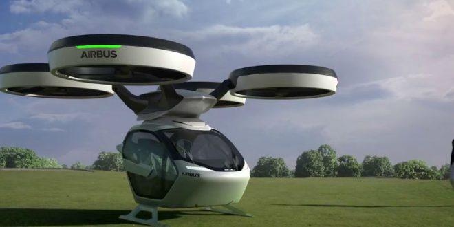 Airbus представил концепт летающего такси-беспилотника