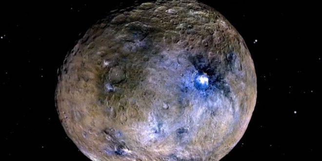На планете Церера обнаружена высокая башня неизвестного происхождения
