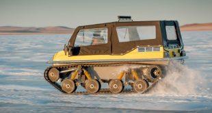 В Швеции танк провалился под лед во время учений. Водитель погиб.