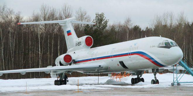 СМИ: пилот потерпевшего крушение над Черным морем Ту-154 сам посадил самолет на воду