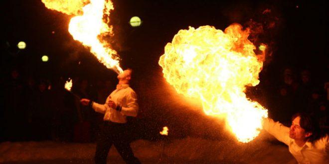 Житель Вязьмы сжег свою жену, пытаясь продемонстрировать фокус