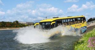 В Казахстане автобус со школьниками смыло с дороги потоком воды