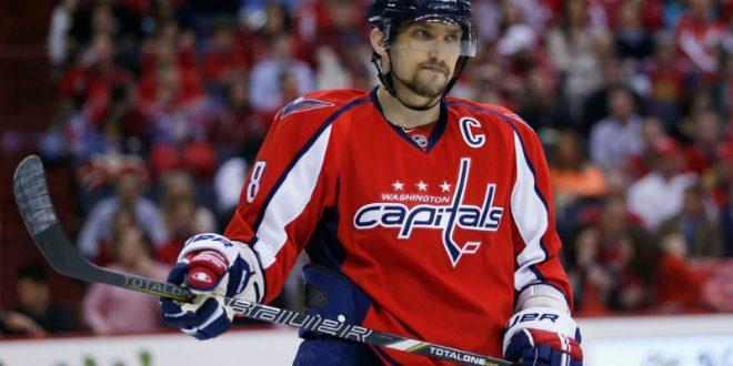 Овечкин устроил массовую драку во время матча НХЛ и разбил нос игроку команды-соперника