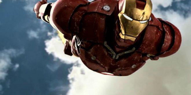 Британский инженер поднялся в воздух в разработанном собственноручно костюме Железного Человека