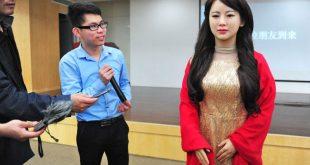 Сделано в Китае: Созданный в Поднебесной робот-женщина провалил первое интервью, не ответив ни на один вопрос