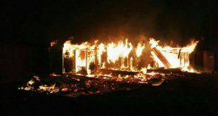 Во Франции лагерь беженцев сгорел дотла после массовых беспорядков