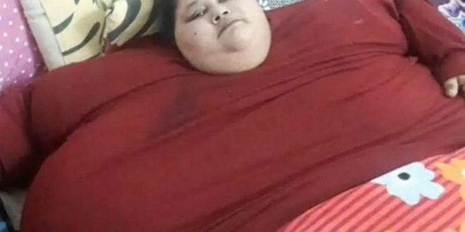 Самая полная женщина в мире за 2 месяца похудела на 242 кг