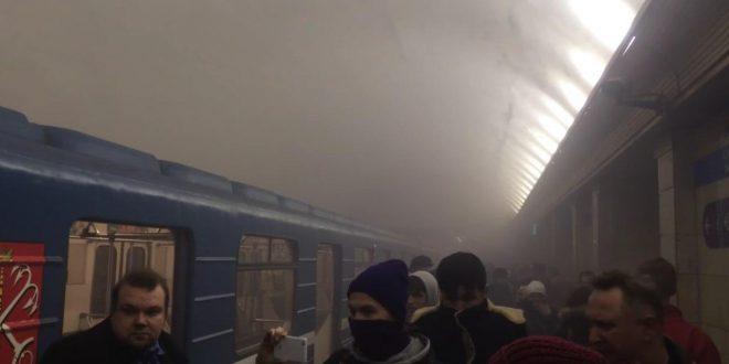 Генпрокуратура назвала взрыв в петербургском метро терактом
