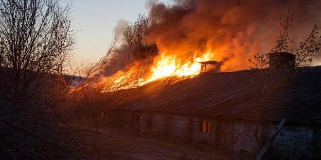 В Иркутской области пожар уничтожил целую деревню из 86 домов