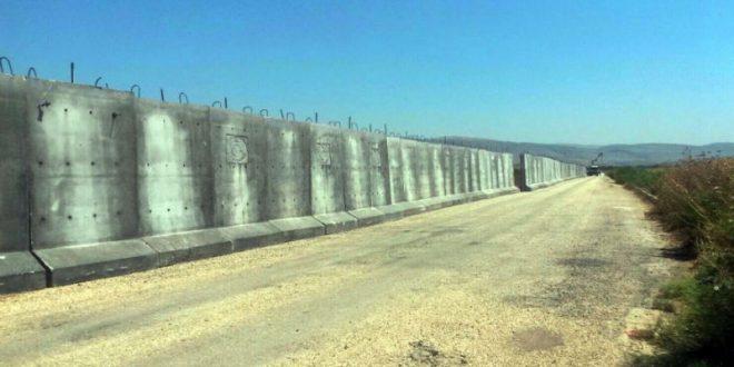 Турция отгородилась от Сирии 550-километровой бетонной стеной