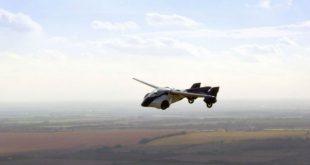 В Монако прошла презентация летающего автомобиля