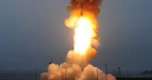 США провели успешные испытания межконтинентальной баллистической ракеты Minuteman III