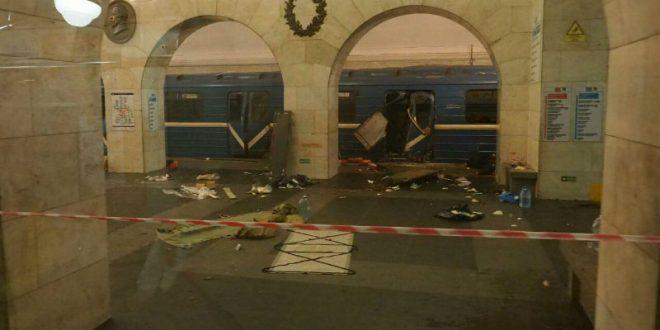 СМИ: Еще на одной станции петербургского метро обнаружено неразорвавшееся взрывное устройство