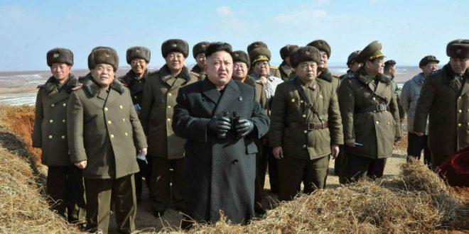 Ким Чен Ын призвал военных КНДР быть готовыми «сломать вражеский хребет по первой команде»
