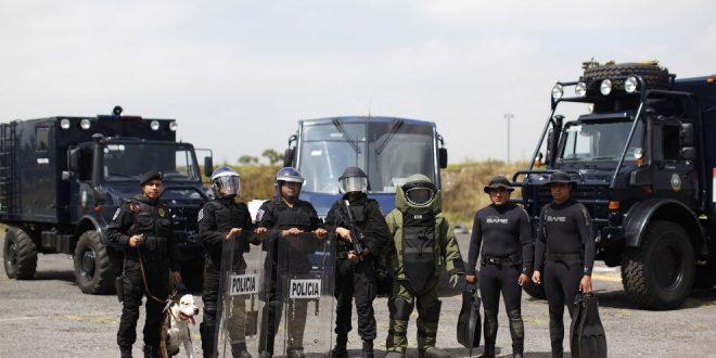 Трое мексиканцев ограбили 29 полицейских