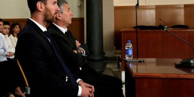 Месси приговорен к 21 месяцу лишения свободы за неуплату налогов