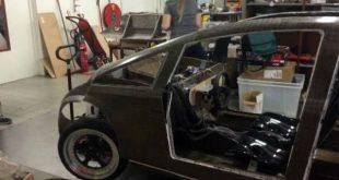 Голландцы создали первый в мире биоразлагаемый автомобиль из льняного волокна