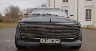 Российский умелец создал уникальный гибрид «Волги» и BMW