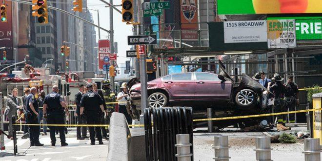 В Нью-Йорке на толпу пешеходов наехал бывший военный, «слышавший голоса»