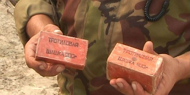 В Ставрополе сотрудник Росгвардии обезвредил найденную местным жителем бочку с килограммом тротила