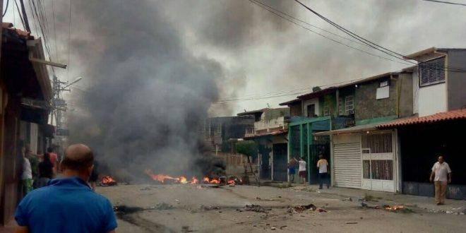 В Венесуэле в ходе протестов был сожжен дом Уго Чавеса