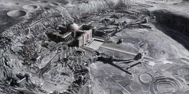 Российский исследователь нашел на снимках НАСА лунный город инопланетян