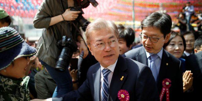 На выборах президента в Республике Корея лидирует демократ Мун Чжэ Ин