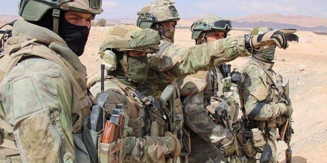 Российских офицеров наградят за проведенный без потерь срыв атаки 300 террористов в Сирии