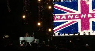 Прощальный концерт Aerosmith в Москве закончился песней в поддержку Манчестера