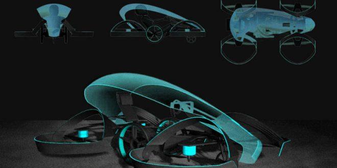 Toyota инвестирует в проект по созданию летающего автомобиля