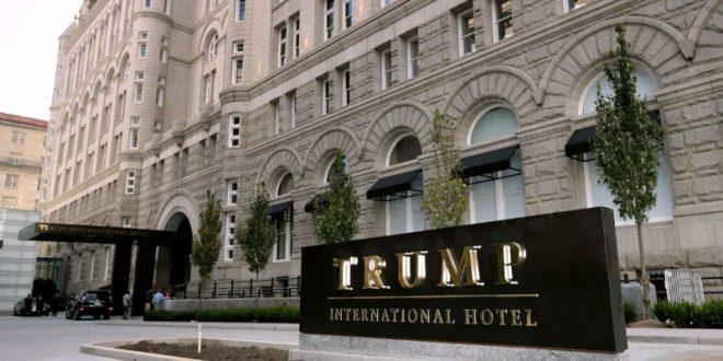 В отеле Трампа в Вашингтоне задержали вооруженного винтовкой мужчину