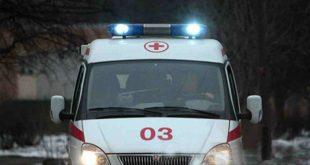 В Екатеринбурге машина скорой помощи попала под обстрел