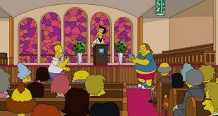 В РПЦ призвали повысить возрастной ценз «Симпсонов» после нового эпизода, в котором Гомер ловит покемонов в храме