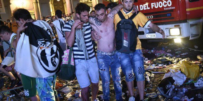 Массовая давка на туринской площади во время финала ЛЧ стала результатом розыгрыша двух подростков