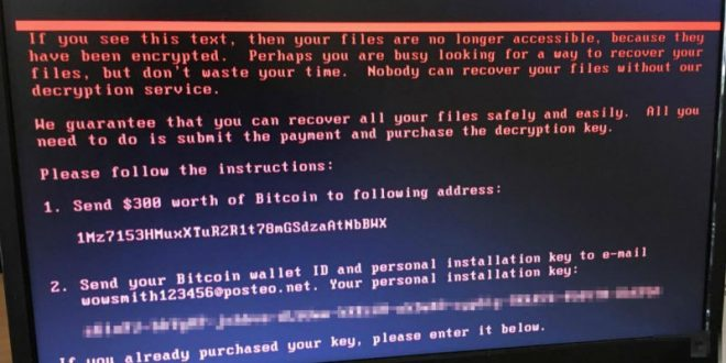 Эксперты: Жертвы вируса-вымогателя не смогут вернуть заблокированные файлы
