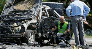 В Киеве взорвался автомобиль с командиром спецназа украинской разведки
