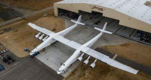В США представили самый большой самолет в мире для запуска ракет на орбиту