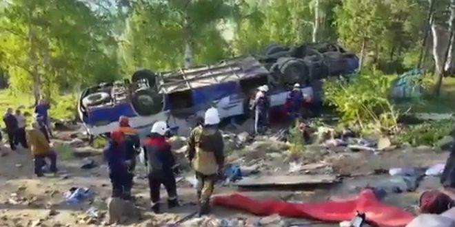 В Забайкалье пройдет день траура по жертвам ДТП с автобусом паломников
